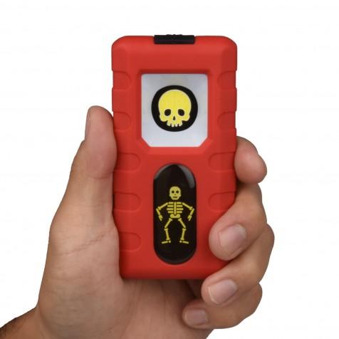 1.5 W COB LED Pocket Light - 150 Lumen | Skeleton Themed