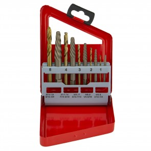 Extractor/Right-Hand Drill Bit Set | 10 Pc