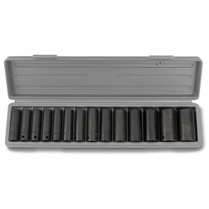 "Impact Socket Set 1/2"" Drive Deep - MM 