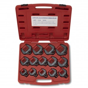 "Jumbo Crowfoot Wrench Set 1/2"" - SAE 