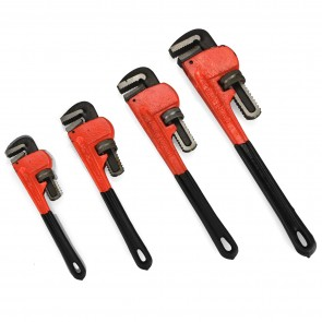 Pipe Wrench Set - Heat Treated | 4 Pc