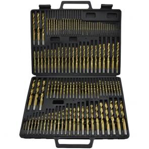Titanium Drill Bit Set with Blow Mold Case | 115 Pc
