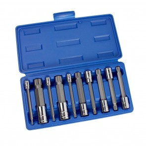 XZN Triple Square Spline Socket/Bit Set - Type 2 | 10 Pc