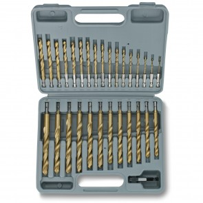 Titanium Drill Bit Set - Quick Change | 30 Pc