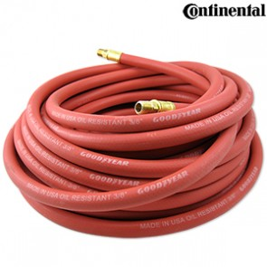 "Continental Air Hose 1/2"" x 25' | Red"
