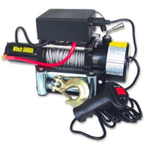 Electric Winch 12V | 5000 lb