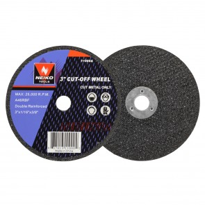 "Cut-Off Wheel 3"" x 1/16"" x 3/8"" - 46 Grit 