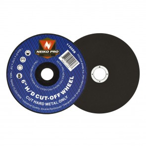 "Cut-Off Wheel 6"" x 1/16"" x 7/8"" - Heavy Duty Metal | 10200 RPM"