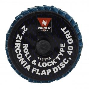 "Zirconia Rolok Flap Disc 2"" - 40 Grit | 10 PK"