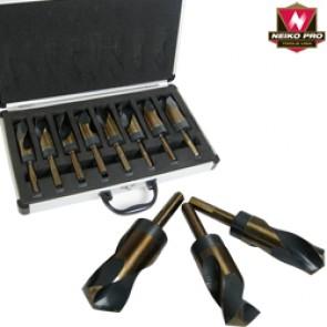 Silver & Deming Drill Bit Set - Jumbo   8 Pc