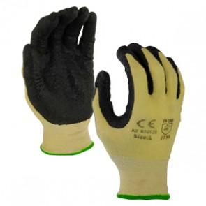Nitrile Coated Cut Resistant Gloves Medium - Black