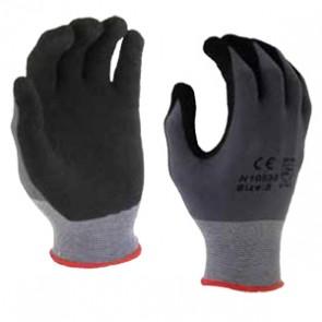 Micro-Foam Nitrile Gloves Large - Sandy Grey | 13 Gauge