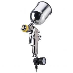 Air Spray Gun HVLP with Gauge - Gravity Feed | 1.7 MM