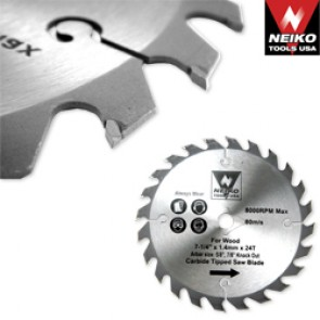 """Carbide Tipped Saw Blade 7 1/4"""" x 36T for Wood"""