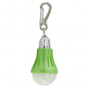 Light Bulb Keychain - Green