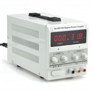 DC Digital Power Supply 5A 30V - Lab Grade
