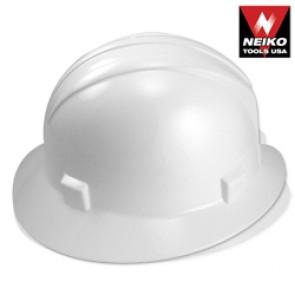 Safety Helmet with Full Brim - White | ANSI Z89.1
