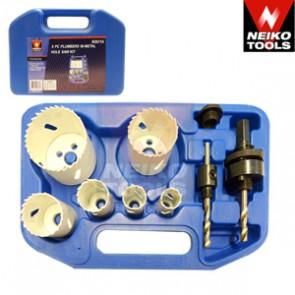 Plumbers Bi-Metal Hole Saw Kit | 9 Pc