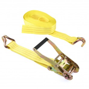 "Ratcheting Tie Down 2"" x 27' - J-Hook 