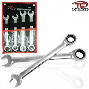 Gear Wrench Set - MM | 4 Pc