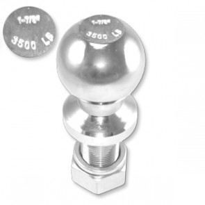 "Hitch Ball 2"" with 1"" x 2"" 