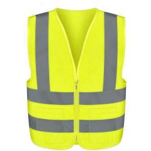 Safety Vest Large - Green | 2 Pockets