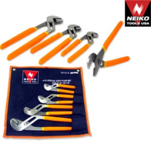 Groove Joint Plier Set | 4 Pc