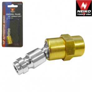 "1/4 Air Coupler 1/4"" Female NPT - Truflate Type 